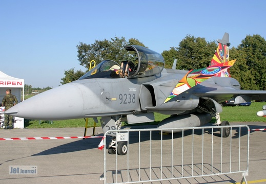 9238, Saab JAS 39 Gripen, Czech Air Force
