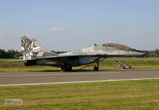 5304, MiG-29UB, Slovakian Air Force