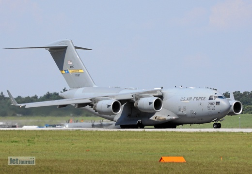 07-7187, C-17A, US Air Force