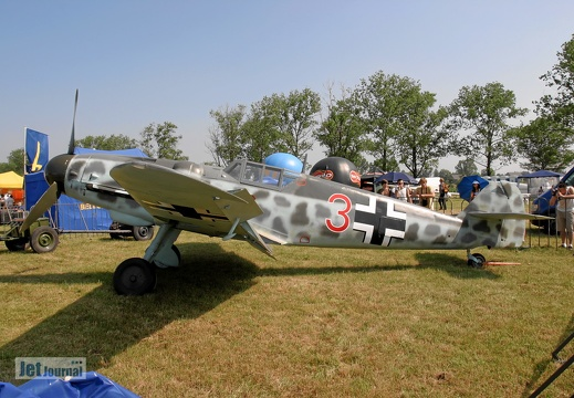 Messerschmitt Bf-109 G-6 cn 163306 Polish Eagles Foundation