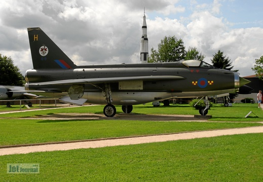 XN782 English Electric F2A Lightning Pic3