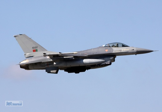 15122, F-16AM, Portuguese Air Force