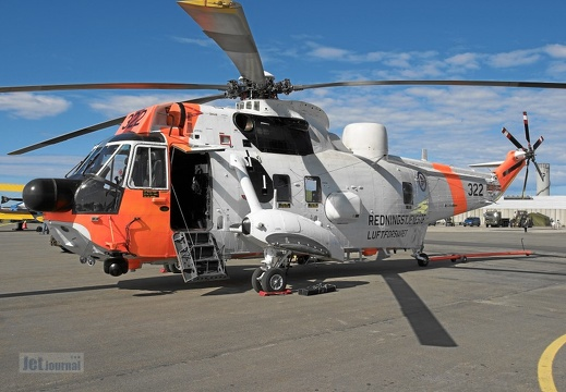 322 Sea King Mk43B 330skv Luftforsvaret