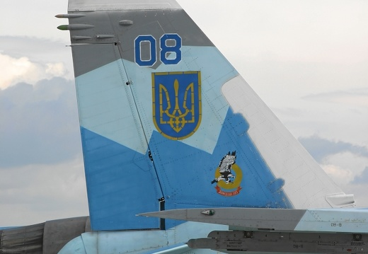 08 blue 36911013605 Su-27 right tail
