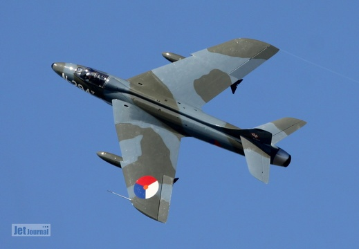 G-KAXF, N-294 Hawker Hunter