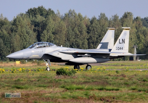 84-044LN, F-15D, U.S. Air Force