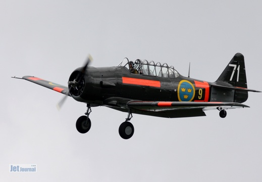 SE-FUD, T-6 Texan II, Swedish Historic Flight
