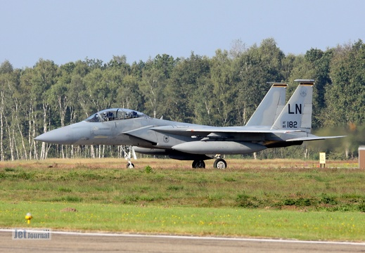 86-182LN, F-15D, U.S. Air Force
