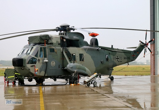 89+70, Sea King Mk.41, Deutsche Marine