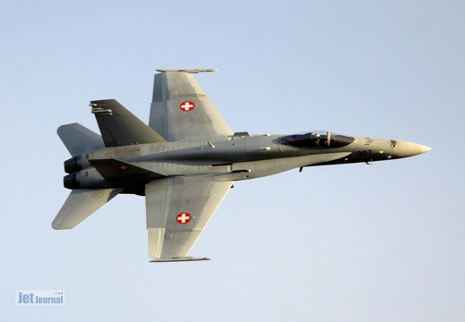 J-5007, F/A-18 Hornet, Swiss Air Force