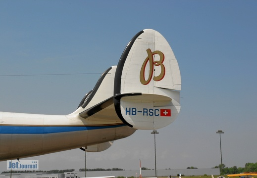 N73544 HB-RSC Lockheed L-1049 Super Constellation Pic7
