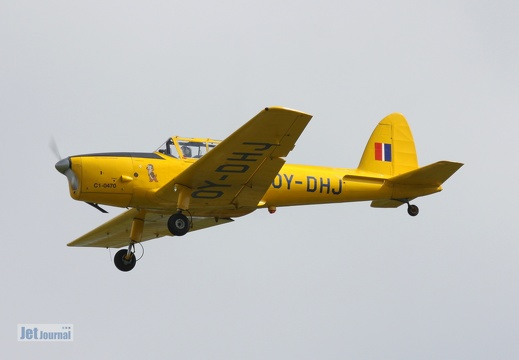 OY-DHJ, deHavilland DHC-1 Chipmuk