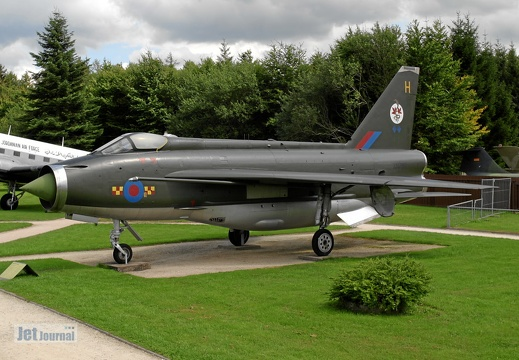 XN782 English Electric F2A Lightning Pic2