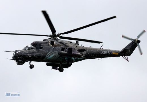 3366, Mi-24W, Czech Air Force