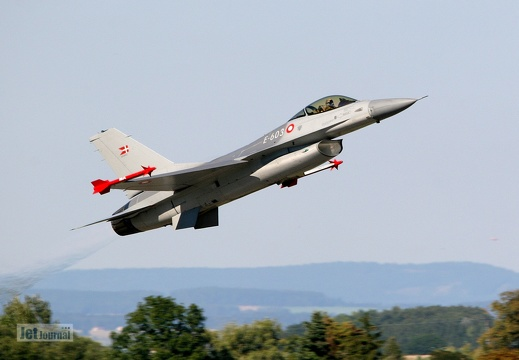 E-603, F-16AM, Royal Danish Air Force