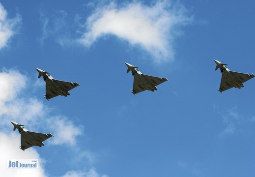 Fly-By 4 Eurofighter