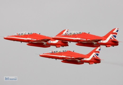 Red Arrows, BAe Hawk, Royal Air Force