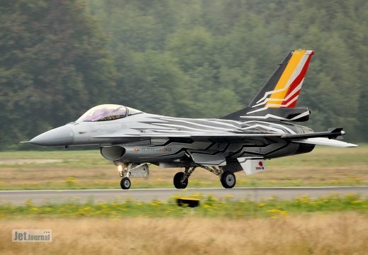 FA-123, F-16AM, Belgian Air Component