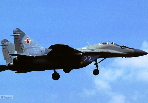 22 weiss, MiG-29