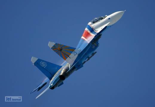 Su-27UB, Russian Knights