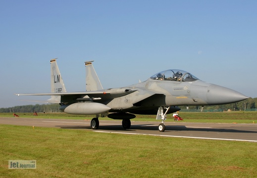 86-0182, F-15D, U.S. Air Force