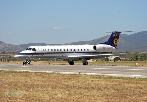 CE01 ERJ135LR Belgian Air Force