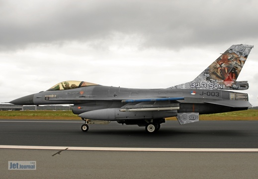 J-003, F-16AM, Royal Netherlands AF