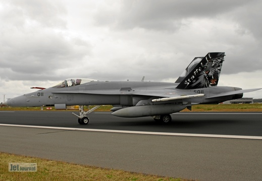 J-5011, F/A-18C Hornet, Swiss Air Force