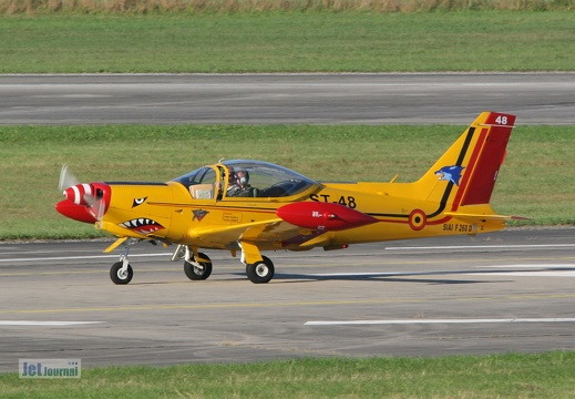 ST-48, SIAI SF-260, Belgian Air Component