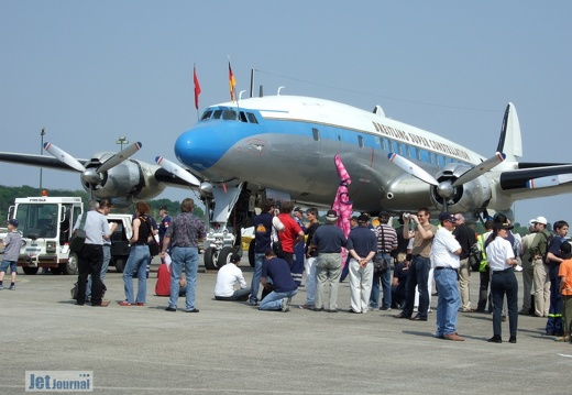 N73544 HB-RSC Lockheed L-1049 Super Constellation Pic2