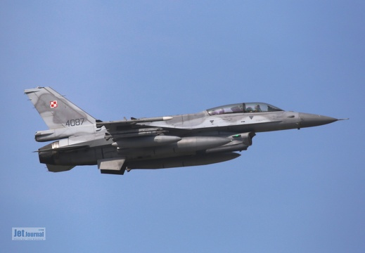 4087, F-16D, Polish Air Force