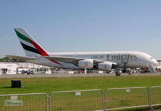 A6-EEV Emirates, Airbus A380