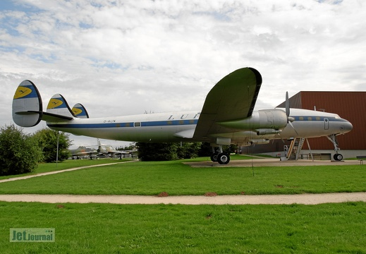 D-ALIN Lockheed L1049G Super Constellation Lufthansa Pic1