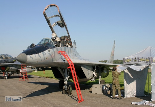 1303, MiG-29UB, Slovak Air Force