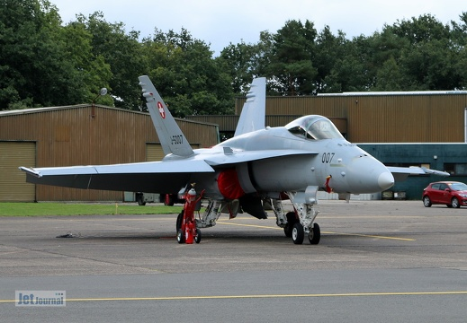 J-5007, F/A-18, Swiss Air Force