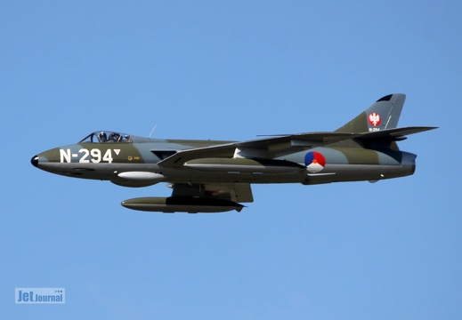 N-294, G-KAXF, Hawker Hunter F.6A