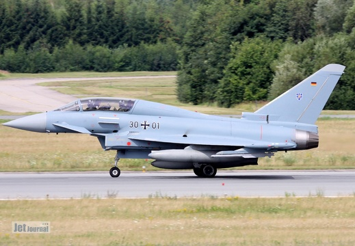 30+01, Eurofighter EF-2000T Typhoon, Deutsche Luftwaffe