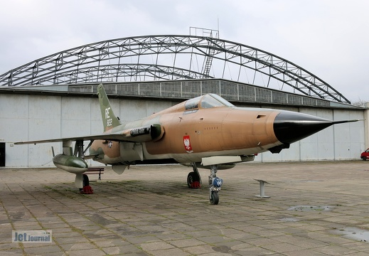 59-1822, Republic F-105D Thunderchief, The Polish Glider
