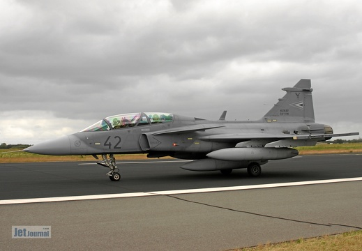 42, JAS-39 EBS HU Gripen, Hungarian Air Force
