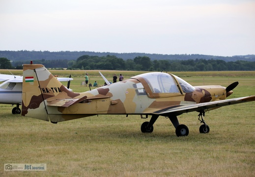 HA-TVA, Scottish Aviation Bulldog Ser. 100