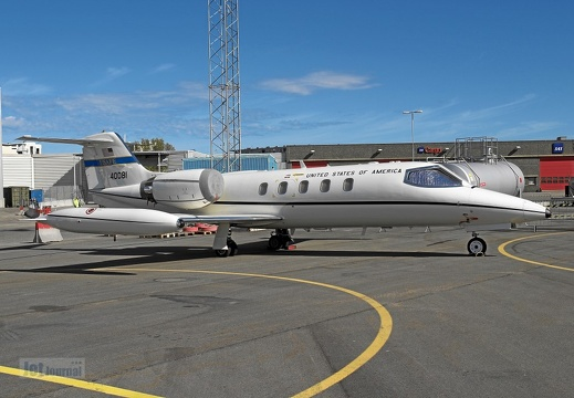 84-0081 Learjet 35 C-21A 76th AS
