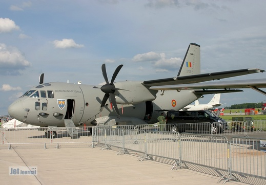 2706, C-27J Spartan, Romanian Air Force