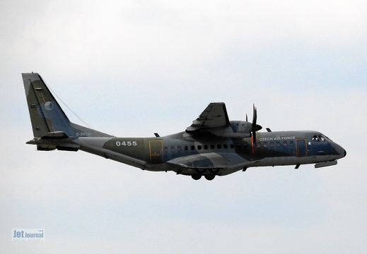 0455, C-295M, Czech Air Force