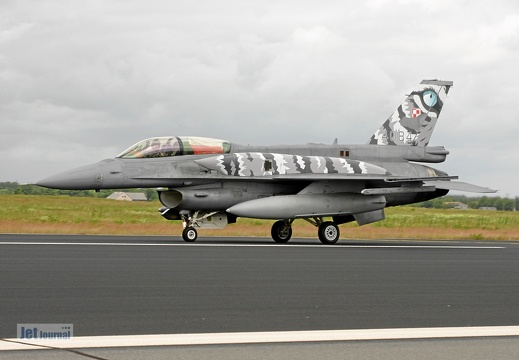 4084, F-16DJ, Polish Air Force
