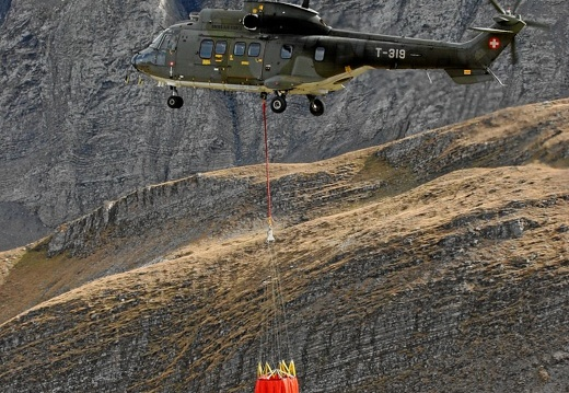 T-319 AS332M-1 Demo Bambi Bucket Axalp