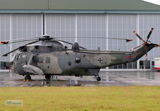 89+63, Sea King Mk.41, Deutsche Marine