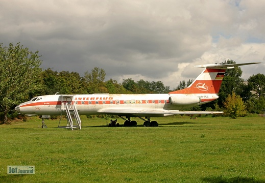 Tu-134, DDR-SCZ Interflug, ex. 177 NVA