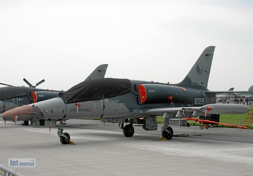 6055, L-159 ALCA, Czech Air Force