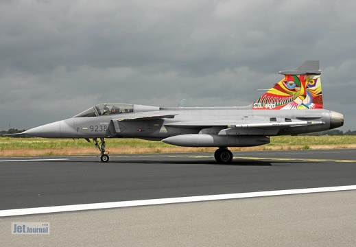 9238, JAS-39C Gripen, Czech Air Force