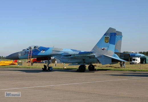 39 blau, Su-27, Ukrainian Air Force